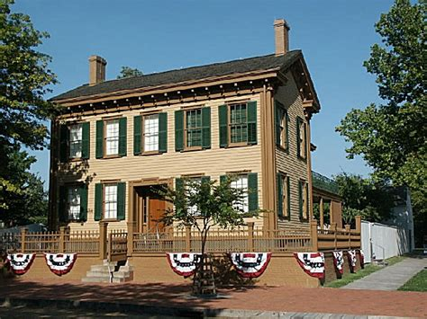 lincoln home national historic site an illinois natlhsite