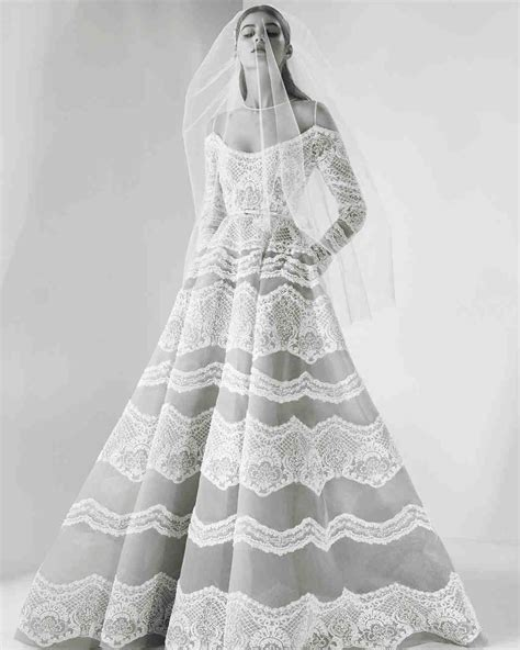 Pretty Gowns For Weddings by 46 Pretty Wedding Dresses With Pockets Martha Stewart