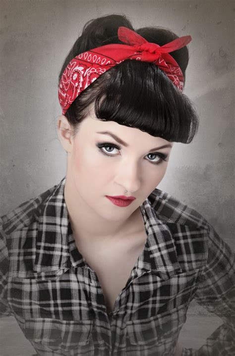 rock roll short ladies hairstyles accesories 50s 66 rockabilly hairstyles the trendy combination of retro