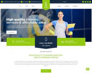 wordpress html templates 16 cleaning company wordpress templates themes free