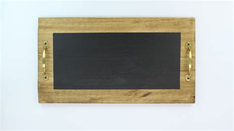 diy chalkboard tray create a chic chalkboard serving tray