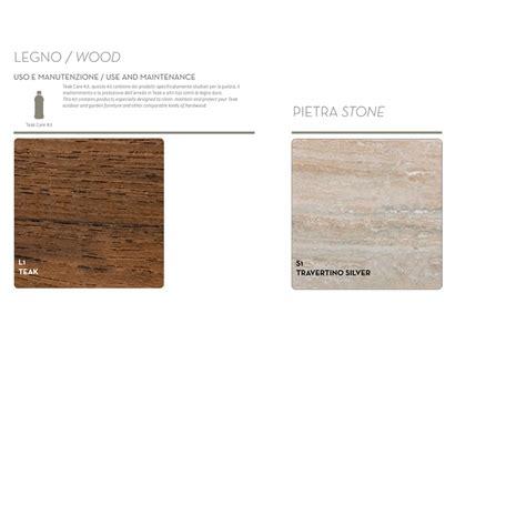 tavoli legno giardino tavolo da giardino di design in legno di teak e marmo cleo