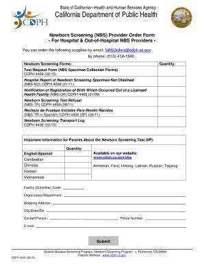 section 1542 california civil code newborn screening provider order form fill online