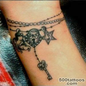 Charms Tattoo Designs Ideas Meanings Images Charm Bracelet Tattoos