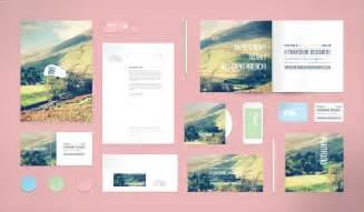 Business Letterhead Mockup Free Mockup Brochure Business Card Letterhead Psd Free Psd Vector Icons