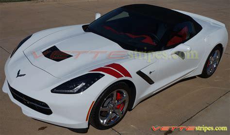 corvette fender stripes c7 stingray c7 z06 fender hash stripes