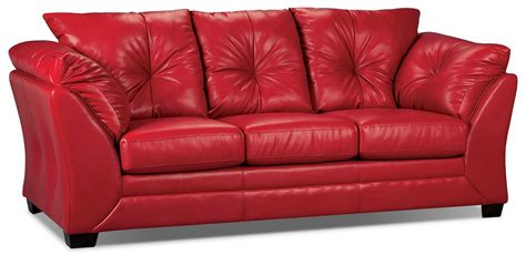 The Brick Sofa Beds Max Faux Leather Size Sofa Bed The Brick