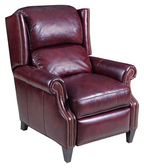 fine leather recliners quick ship parker leather recliner
