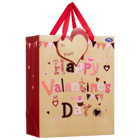 valentines day bags b m happy s day gift bag s day