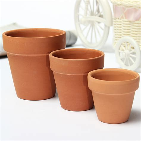 Clay Planters by Ceramics Terracotta Flower Pot Clay For Small Plants