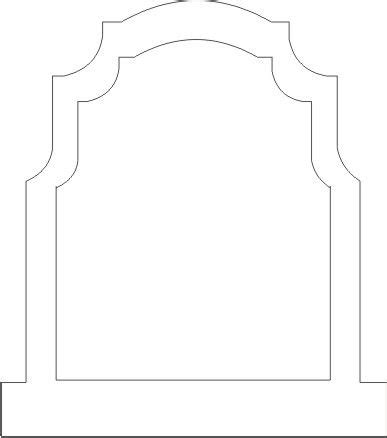 simple tombstone