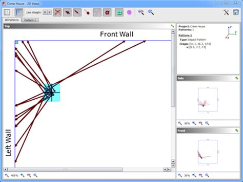 pattern analysis tools hemospat bloodstain pattern analysis software
