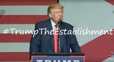 Us Wahlen 2016 Warum Donald - vs establishment wer dieses sieht versteht