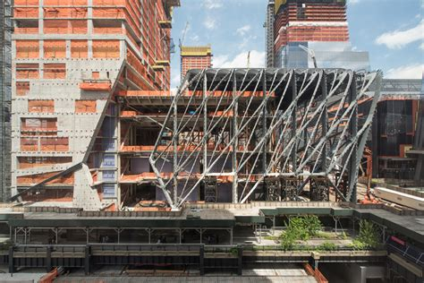 The Shed by The Shed By Ds R And Rockwell Takes Shape In New York