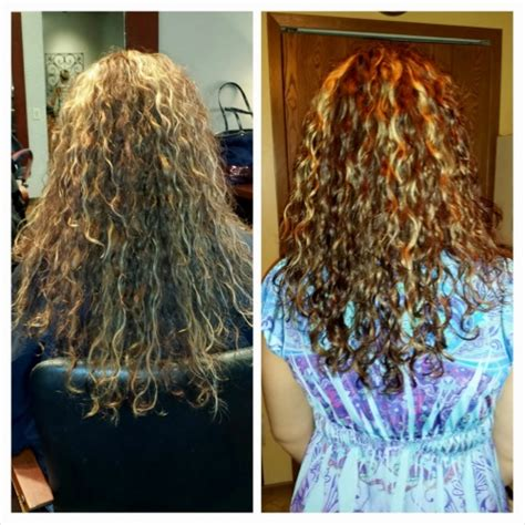 pictures of before and after curly hair makeover before after by taznjade