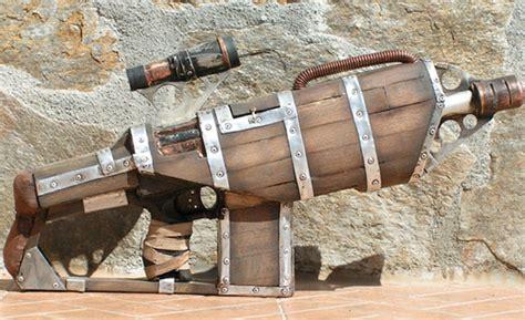 steunk woodworking steunk minigun