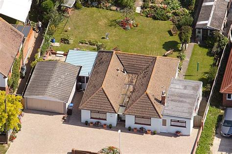 aerial photograph of my house