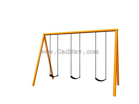 swing table model trapeze table swing frame 3d model 3dsmax files free