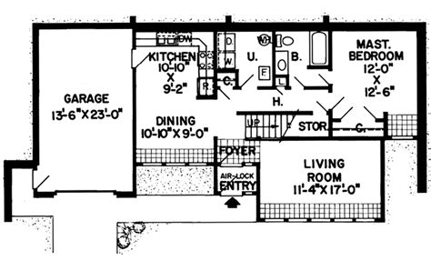 berm home plans modern berm house plans