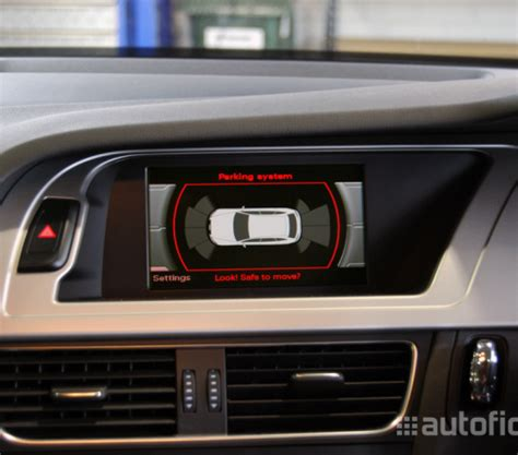 audi parking system plus front rear park distance