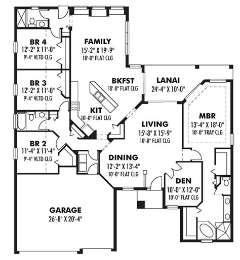 2500 sq ft floor plans 2500 square home plans house design plans