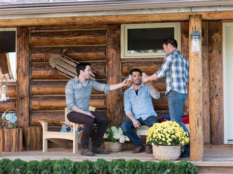 property brothers make over home of young williamson the property brothers give this tiny ranch cabin a modern