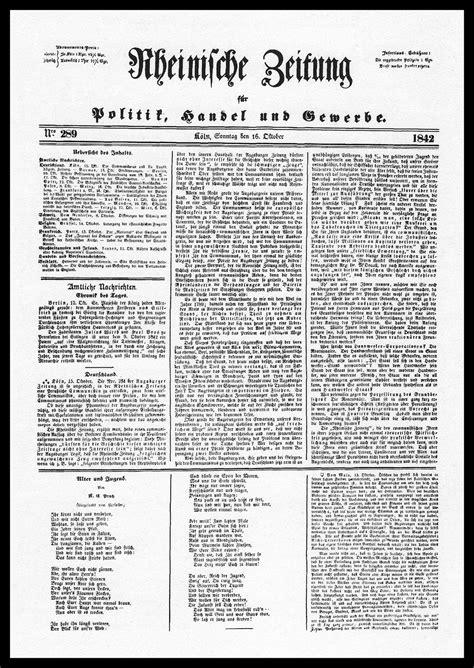 karl marx research paper rheinische zeitung