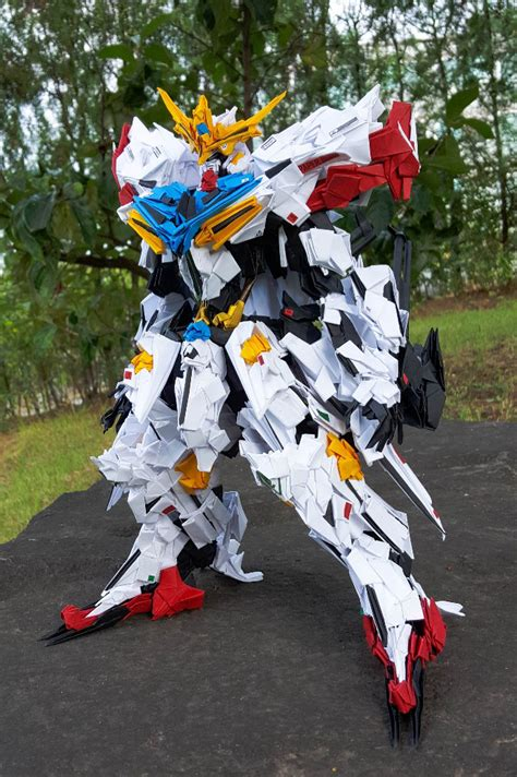 Gundam Paper Craft - gundam gundam papercraft gundam barbatos by fulltime