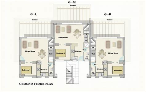 garden apartment floor plans bahceli seaview garden apartment north cyprus property