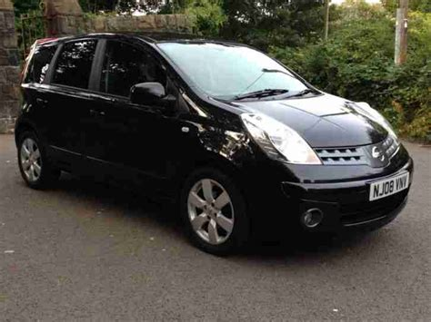 black nissan 2008 nissan 2008 note tekna auto black 1 prev owner tax and mot