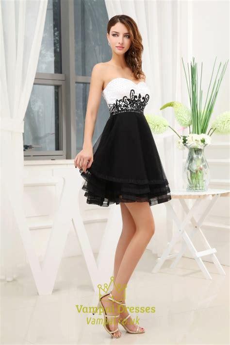 Bw Dress black and white prom dresses white and black sweet 16 dresses val dresses