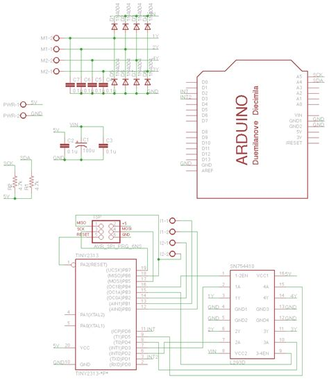 decoupling capacitor for arduino motor how do i where i need decoupling capacitors electrical engineering stack exchange