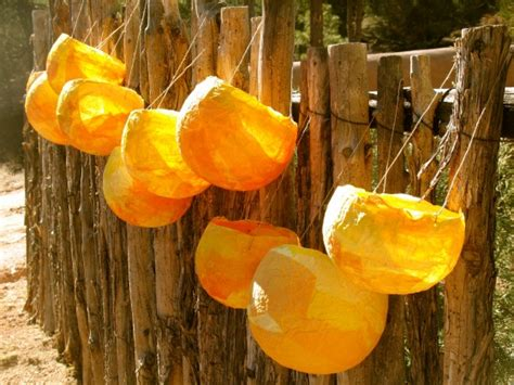 How To Make Paper Mache Lanterns - lantern spinning tree of studio