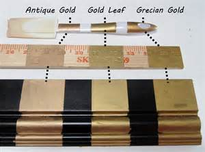 rub n buff colors three golds comparing rub n buff s gold finishes fig