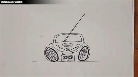 Imagenes De Radios Faciles Para Dibujar   como dibujar un radio youtube