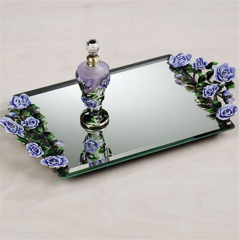 Perfume Mirror Vanity Trays by Mirrored Vanity Trays Perfume Home Design Ideas
