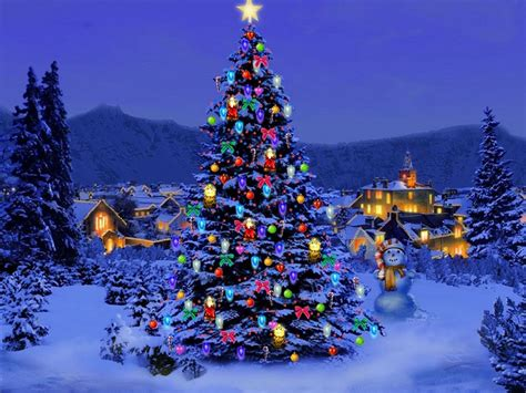 christmas themes for your pc wallpapers christmas trees wallpapers