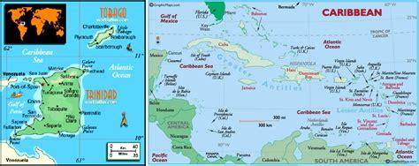 and tobago world map and tobago list of trinidadian and tobagonian