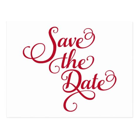 Save The Date Text Design Word Art Invitation Postcard Save The Date Template Word