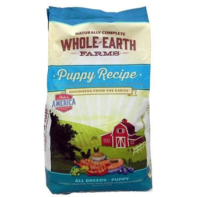 whole earth puppy food whole earth farms puppy food 8 lb food at arcata pet supplies