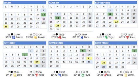 luna en cuarto creciente calendario 2016 fase lunar cuarto menguante en febrero 2016