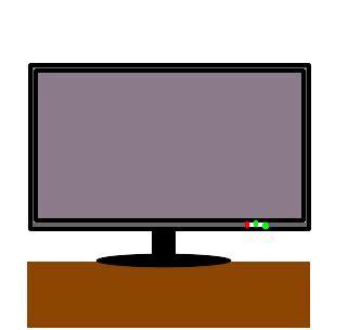 televisão desenho de vandelicia gartic