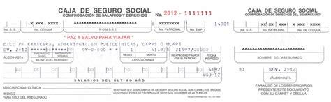 Consulta De Impuesto Caja Costarricense Seguro Social | consulta de impuesto caja costarricense seguro social