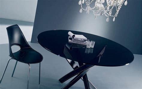 tavolo bontempi barone tavolo barone di bontempi con piano in cristallo elegante