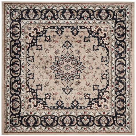 7 X 7 Square Area Rugs by Safavieh Lyndhurst Anthracite 7 Ft X 7 Ft Square