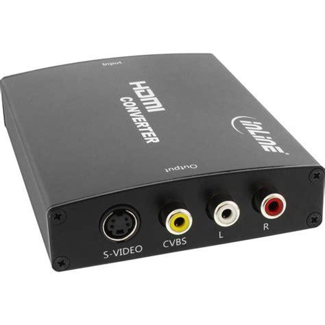rca eingang inline 174 konverter hdmi zu composite s mit audio