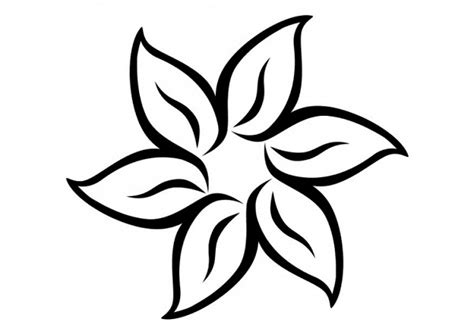disegno fiore stilizzato fiore stilizzato disegno da colorare gratis disegni da
