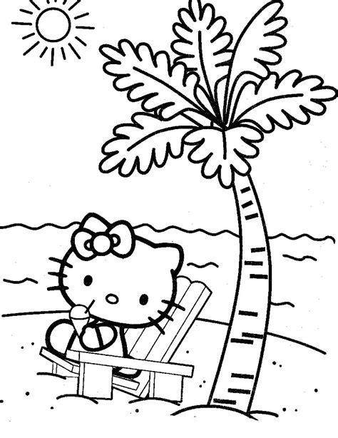 kumpulan gambar mewarnai  kitty  anak sd tk