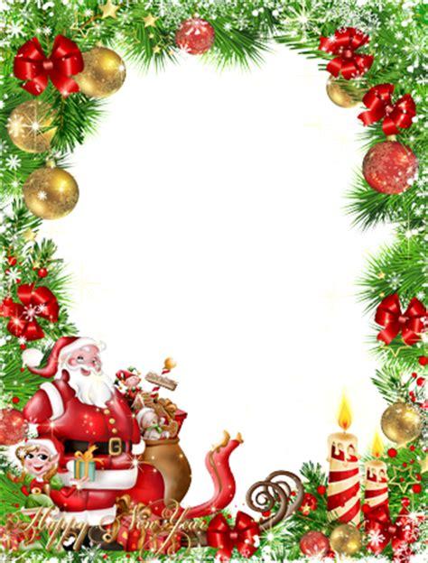 new year photo frame editor photo frames happy new year from santa