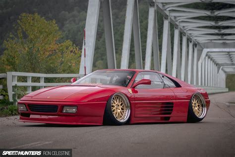 stanced ferrari how to slam a ferrari speedhunters